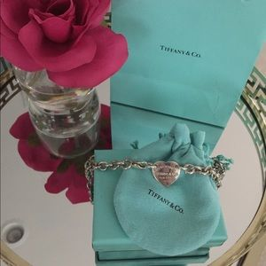 "Authentic Tiffany's ""Return to Tiffany's"" Necklace"